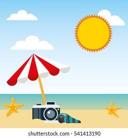 travel holidays flat line icons vector illustration design