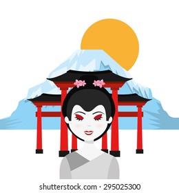 travel japan design, vector illustration eps10 graphic