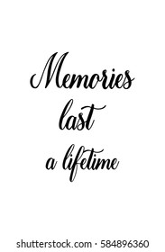 Memories Quote Images, Stock Photos & Vectors | Shutterstock