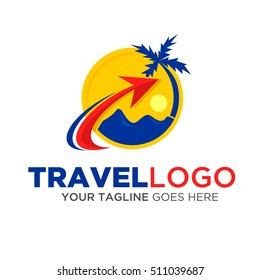 Travel Logo Vector eps.10