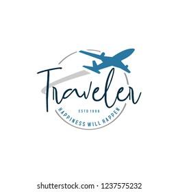 travel logo and vector, latter travel logo, logo for business