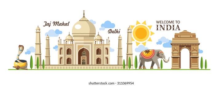travel panorama India