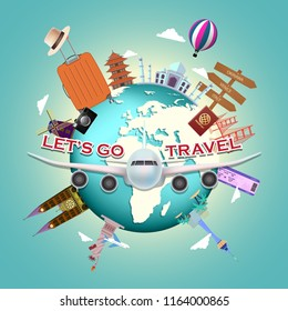 travel plane airline vacation luggage passenger landmarks tourism journey architecture summer tourist statue of liberty italy pisa rome cocoanut tree sea venice florence cathedral