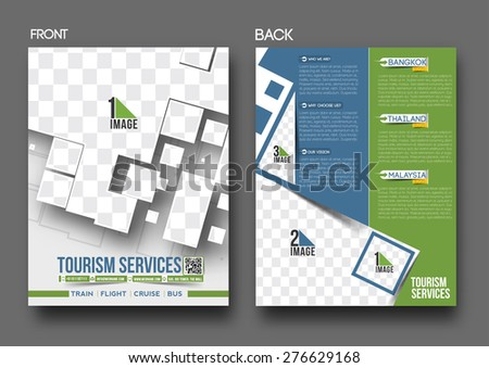 Travel Service Flye & Poster Template.