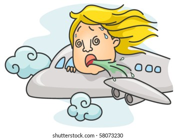 Travel Sickness - Vector
