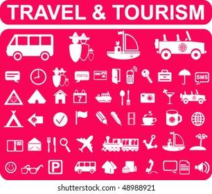 Travel and Tourism Signs
