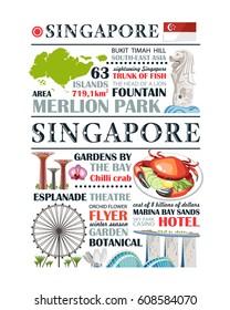travel traditional singapore paragraph design template message information culture aec area