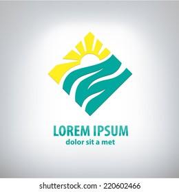 Travel vector logo design template. Company logo design.