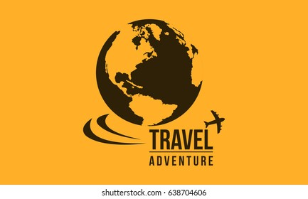 Travel in the world icon collection