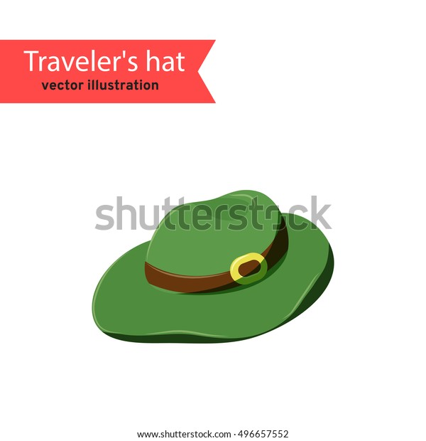 e00b150f2 Travelers Hat Vector Safari Hat Isolated Stock Vector (Royalty Free ...