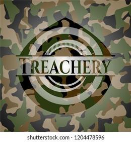 Treachery camo emblem