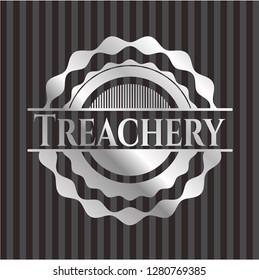 Treachery silvery emblem
