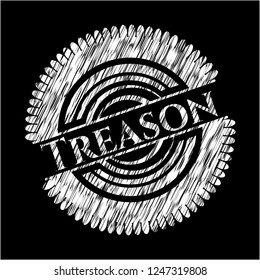 Treason chalk emblem