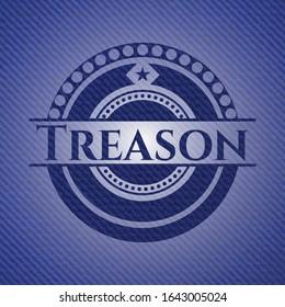 Treason denim background. Vector Illustration. Detailed.