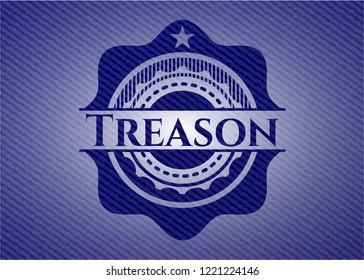 Treason with denim texture