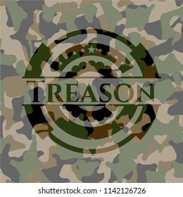 Treason on camo texture