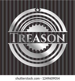 Treason silvery emblem