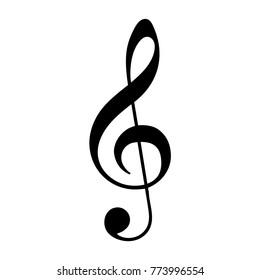 treble clef icon