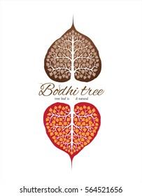 tree bodhi leaf