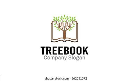 Tree Book Design Illustration