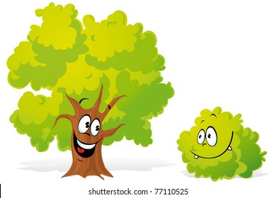 Tree Face Images Stock Photos Vectors Shutterstock Happy comic cartoon tree with happy face. https www shutterstock com image vector tree bush 77110525