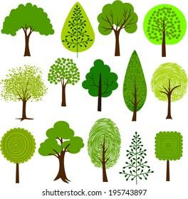 Tree clip art 2