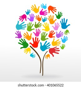 Hand Tree Images Stock Photos Vectors Shutterstock