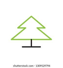Tree icon  Vector illustration, EPS10.
