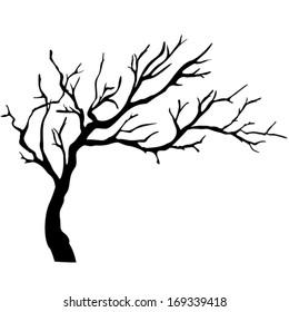 Tree Branch Outline Images Stock Photos Vectors Shutterstock