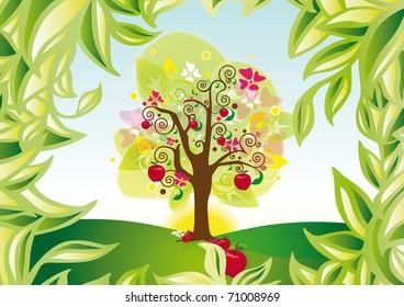 Tree Landscaped