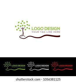 Tree Logo Design Template Vector EPS File