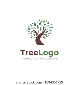 Tree Logo design Vector inspiration