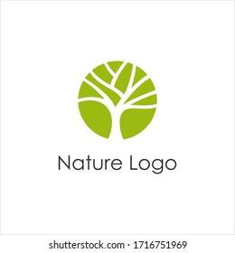 Tree logo modern concept design