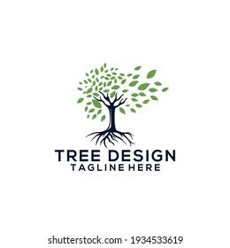 Tree Logo Template Vector Icon Design