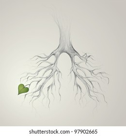 Tree - Lungs of the Earth / Realistic sketch
