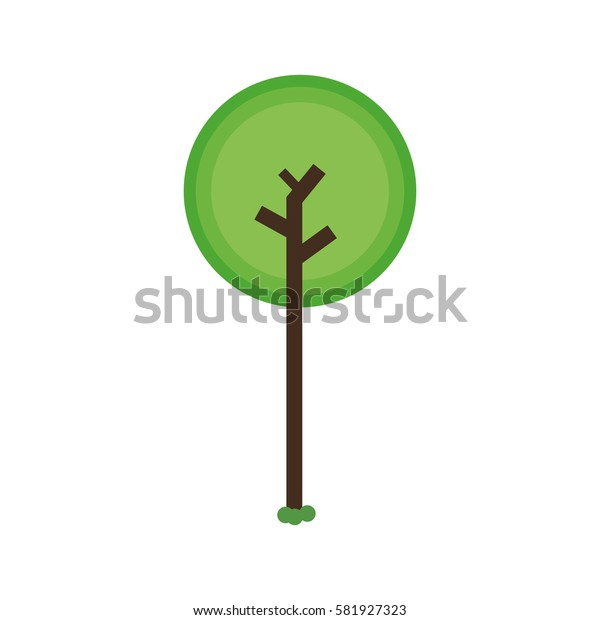 Tree nature ecology icon vector illustration graphic design