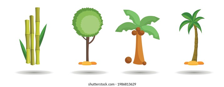 tree, palm, bamboo, forest, firtree vector clip art set. tree, palm, bamboo, forest, firtree vector clip art set. tree, palm, bamboo, forest, firtree vector clip art set.
