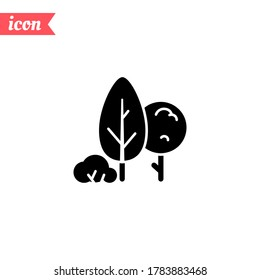 tree, park, forest icon. Vector illustration EPS 10.