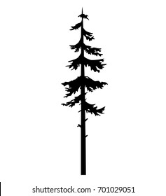 tree pine silhouette vector logo tattoo template design, tree pine nature silhouette, tattoos white ink drawing, black silhouette tree vector icon isolated, christmas tree tattoo