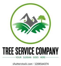 tree service company logo