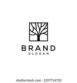 tree simple logo design