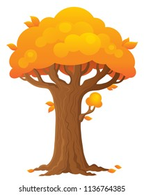 Tree topic image 2 - eps10 vector illustration.