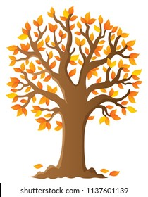 Tree topic image 6 - eps10 vector illustration.