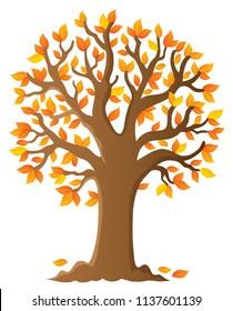 Tree topic image 6 - eps10 vector illustration.
