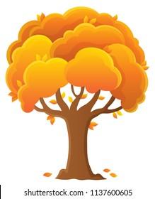 Tree topic image 9 - eps10 vector illustration.