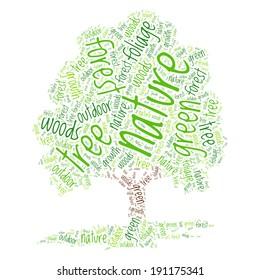 Tree Word Cloud