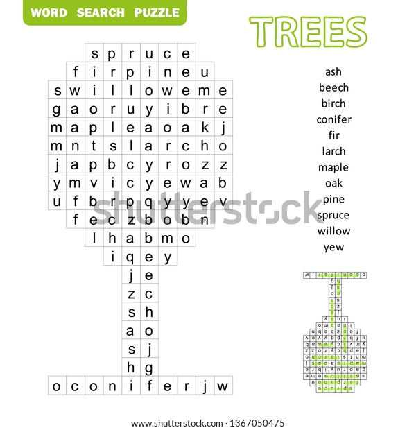 Word Search Puzzle 184