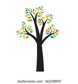 Tree.Vector illustration.