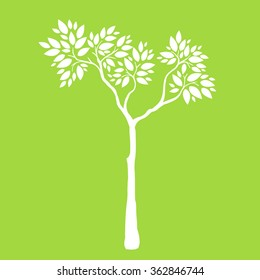 Tree.Vector illustration.