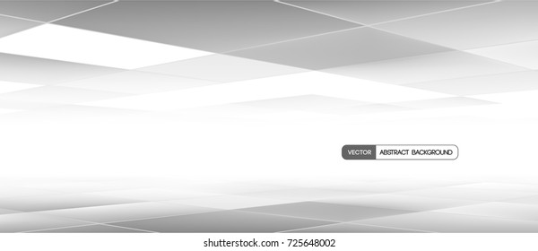 Trendy abstract banner. Vector illustration. Used opacity mask and transparency layers of background and mesh objects